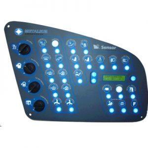 Panel de control multiplex 1.0 – Con Display – METALSUR